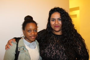 Anisha Thomas (right), Office of Youth Wellness and Community Health at the Baltimore City Health Department